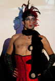 "Queerios! Cast Member Rob (""Chibbi"")  at The Rocky Horror Picture Show - Austin, Texas"
