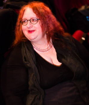 Queerios! Cast Member Joanna Stephens at The Rocky Horror Picture Show - Austin, Texas