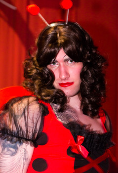 Queerios! Cast Member John Paul Frederick at The Rocky Horror Picture Show - Austin, Texas