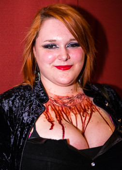 Queerios! Cast Member Oona McLean at The Rocky Horror Picture Show - Austin, Texas
