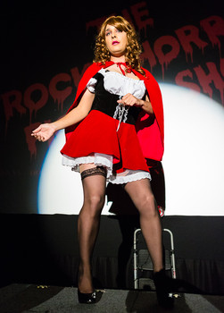 Queerios! Cast Member Ryan Cochran at The Rocky Horror Picture Show - Austin, Texas