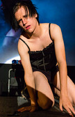 Queerios! Cast Member Alex Gernand at The Rocky Horror Picture Show - Austin, Texas