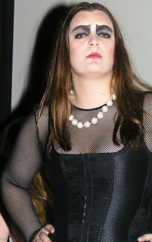 Queerios! Cast Member Sarah Wilk at The Rocky Horror Picture Show - Austin, Texas