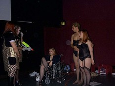 Queerios! Old Cast Photo - The Rocky Horror Picture Show in Austin, Texas