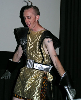 Queerios! Cast Member Kevin Keener at The Rocky Horror Picture Show - Austin, Texas