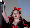 Queerios! Cast Member Allison Rafferty at The Rocky Horror Picture Show - Austin, Texas