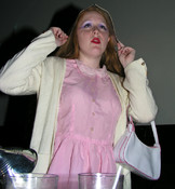 Queerios! Cast Member Whitney White as Janet Weiss at The Rocky Horror Picture Show - Austin, Texas