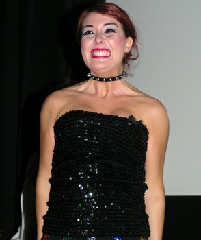 Queerios! Cast Member Allie Carr at The Rocky Horror Picture Show - Austin, Texas