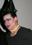 Queerios! Cast Member Calvin McWilliams at The Rocky Horror Picture Show - Austin, Texas