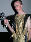Queerios! Cast Member Kevin Keener as Riff Raff at The Rocky Horror Picture Show - Austin, Texas