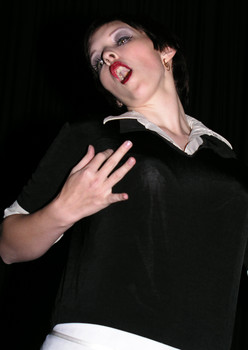 Queerios! Cast Member Kristin Mickelson at The Rocky Horror Picture Show - Austin, Texas