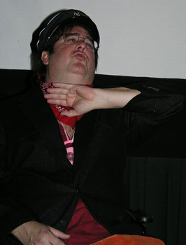 Queerios! Cast Member David Roland Strong at The Rocky Horror Picture Show - Austin, Texas