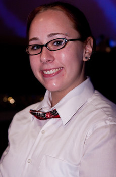 Queerios! Cast Member Megan Ryle at The Rocky Horror Picture Show - Austin, Texas