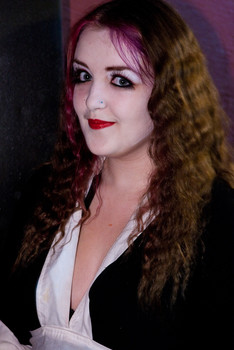 Queerios! Cast Member Jenny Barrow at The Rocky Horror Picture Show - Austin, Texas