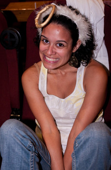 "Queerios! Cast Member Megan (""M&M"") Moten at The Rocky Horror Picture Show - Austin, Texas"