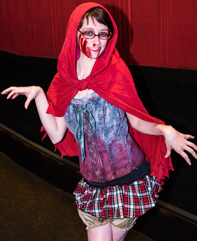 Queerios! Cast Member Sheena Bowker at The Rocky Horror Picture Show - Austin, Texas
