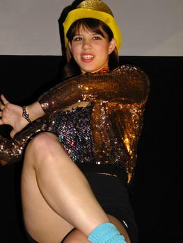 Queerios! Cast Member Debbi Dzbenski at The Rocky Horror Picture Show - Austin, Texas