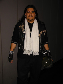 Queerios! Cast Member Isaac Ramirez at The Rocky Horror Picture Show - Austin, Texas