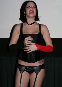 Queerios! Cast Member Lauren Matyis (R.I.P.) at The Rocky Horror Picture Show - Austin, Texas