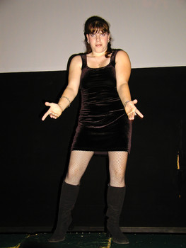 Queerios! Cast Member Jamie Goodstein at The Rocky Horror Picture Show - Austin, Texas