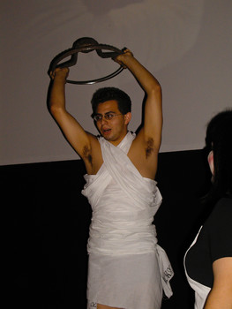 Queerios! Cast Member Chris Lambert at The Rocky Horror Picture Show - Austin, Texas