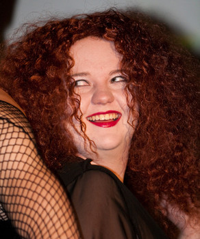 Queerios! Cast Member Amy Helfenbein at The Rocky Horror Picture Show - Austin, Texas