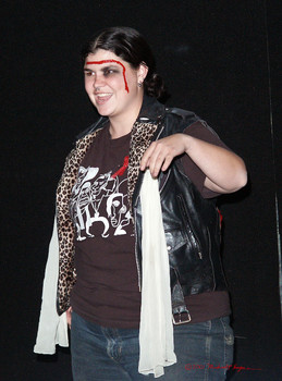 Queerios! Cast Member Blair Mundy at The Rocky Horror Picture Show - Austin, Texas