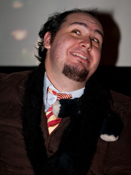 """Queerios! Cast Member Shawn (""""Penguin"""") McKown at The Rocky Horror Picture Show - Austin, Texas"""